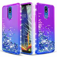 Sparkling Phone Case for LG K40 LG Solo LTE LG X4 2019 LMX420 w Screen Protector