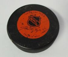 Vintage Official NHL Hockey Puck, Canadian Society of New York