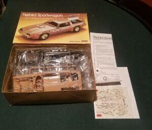 RARE Pontiac Firebird Sportwagon 1/24 Scale 1984 Lindbergh Model Kit Mint New