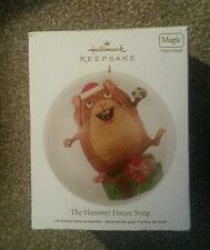 NEW Collectable Christmas Hamster Dance Song Tree Ornament. 2012