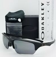 NEW Oakley Flak Beta sunglasses Matte Black / Black Iridium 9372-0265 GENUINE AF