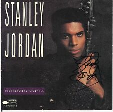 Cornucopia * by Stanley Jordan (CD, 1990, Blue Note) Original Signed