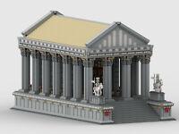 Lego MOC Tempel/Temple Anleitung/Instruction