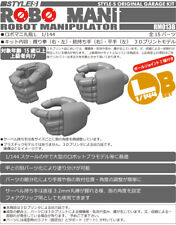 1/144 HG Style S Resin Robot Manipulator Zeon Hands Set B for Gunpla Kits Gundam
