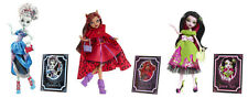 3 Monster High   Scary Tale Dolls Clawdeen Draculaura FRANKIE