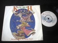 "KATE BUSH/DECEMBER WILL BE MAGIC AGAIN/UK PRESS 7"""