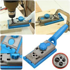 Pocket Hole Jig Drill Guider Doweling Joinery for Woodworking Durable W/Scale