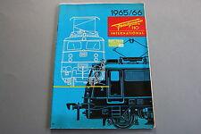 X044 FLEISCHMANN Train catalogue Ho 1965 66 38 pg 29,5*20,8 cm F + prix 1966
