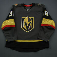 2018-19 William Carrier Vegas Golden Knights Game Used Worn ADIDAS Hockey Jersey