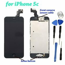 Replacement LCD Touch Screen Digitizer Glass full Assembly for iPhone 5c Black