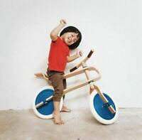 Wooden Children`s Balance Bike Brum Brum Best Gift For Your Baby Special Offer