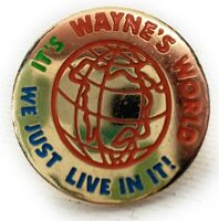 VINTAGE / RARE 1992 Wayne's World Metal Metal Pin