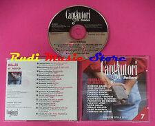 CD CANTAUTORI ITALIANI 7 Ribelli si nasce compilation GAETANO no lp mc vhs (C9)