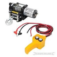Pesado Deber Silverline 12V 2000LB Cabrestante eléctrico ATV Quad Extractor de coche remolque de barco