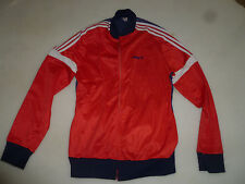 VINTAGE ADIDAS TRACKSUIT JACKET SIZE LARGE RED BLUE WHITE FIREBIRD