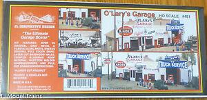 "JL Innovative Design #481 O'Lary's Garage -- Kit - 10-3/4 x 4 x 3-1/2"" 27.3 x 10"