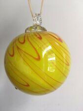 Blown Glass Ball/ Decorative Ball/ Homemade Blown Glass Ball