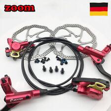 ZOOM MTB Mountainbike Vorn/&Hinten Fahrrad Hydraulisch Bremse Scheibenbremse Neui