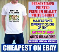 Personalised Custom Printed t-shirts, Stag Hen Do, Charity Run Adults & Kids Top
