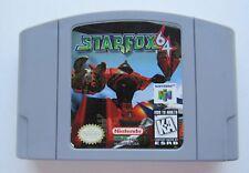 Star Fox Nintendo 64 N64 OEM Authentic Video Game Kids Retro Flying Rare GOOD