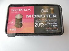Norica Monster Cal .22/5.5 Mm x Caja de 150 perdigones