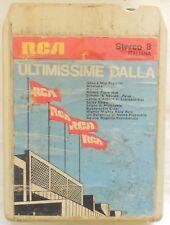 CARTRIDGE TRACK TAPE CASSETTA STEREO 8 ULTIMISSIME DALLA RCA 1971