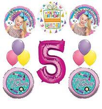 JoJo Siwa Party Supplies Dream Crazy Big 5th Birthday Balloon Bouquet Decoration