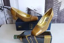 FABULOUS TH Timothy Hitsman Ostrich Pony hair Leather Pumps US 6  !! Rare !!