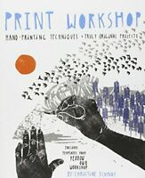 Print Workshop by Christine Schmidt Paperback Book The Fast Free Shipping