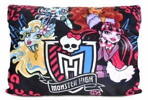 Monster High Characters Pillow