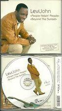 RARE / CD 5 TITRES - LEVI JOHN : PEOPLE HELPIN' PEOPLE