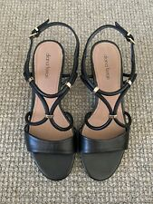 diana ferrari Women's Leather Sandal Size 7.5