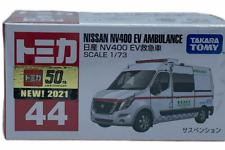 Takara Tomy Tomica 44 Nissan Nv400 EV Japan Ambulance Vehicle Diecast Model