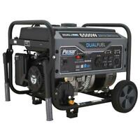 Pulsar 6500 Peak/5500 Rated Watt Dual Fuel Gas/LPG Portable Generator RV Ready