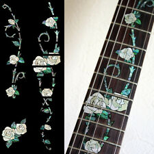 Fret Markers Inlay Sticker Decal For Guitar - Gypsy Rose Abalone Vine Tree