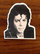 "Michael Jackson Vintage 1988 2 "" badge Pin Bad Tour Rare Original King Of Pop MT"
