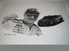"""Dale Earnhardt original Frank Nareau Authentic1998 Print 11 x 14"""""""