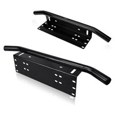 "MICTUNING 23""License Plate Mounting Bracket Front Bull Bar Bumper Hold Universal"