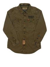 Jungen-Hemden aus 100% Baumwolle ohne Muster in Größe 140