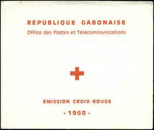 Gabon Scott #C69a Complete Booklet Mint Never Hinged