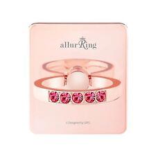 allurRing Authentic Swarovski Cell phone Ring Holder Grip - Rose Gold Charlotte