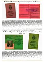 Identity Cards, Passes, Permits,Security documents guide WW2 Home Front