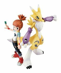Megahouse Digimon Tamers Lenamon & Ruki GEM PVC Figure