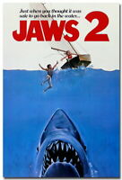136325 Jaws 2 Classic Movie Decor Wall Print POSTER