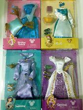 "Disney Princess Doll Costume Set Dolls Outfit12"" Rapunzel/Jasmine/Belle/Aurora"