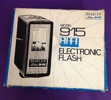 Model 915 Hi Fi Electronic Flash BESELER Toshiba camera Vintage Hot Shoe antique