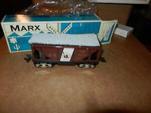 MARX #73502 CNJ Hopper Car, 6 inch,  New Production, OB, 8 Wheel