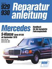 Mercedes S-Klasse W126 Reparaturanleitung Reparatur-Handbuch Reparaturbuch Buch