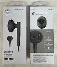 Audio-Technica ATH-C200BT Bluetooth In-Ear Headphones BRAND NEW