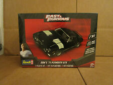 RMX/4477 1971 PLYMOUTH GTX FAST N FURIOUS DOM'S 2 IN 1 KIT FREE SHIPPING